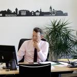 FDP-Bundestagsabgeordneter Otto Fricke in seinem Büro im Deutschen Bundestag