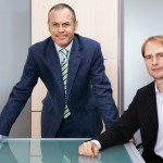 Geschäftsführer Peter Peschel und Andreas Kinsky, Die Mediafabrik, Berlin