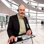 Rainer Delgado, Modell und Design, Audioguide-Entwickler für die Reichstagskuppel