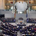 Plenarsaal, Regierungsansprache von Dr. Angela Merkel