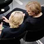 Dr. Angela Merkel und Ursula von der Leyen