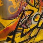 Kabel und Graffiti, Steinlein Halle 2014